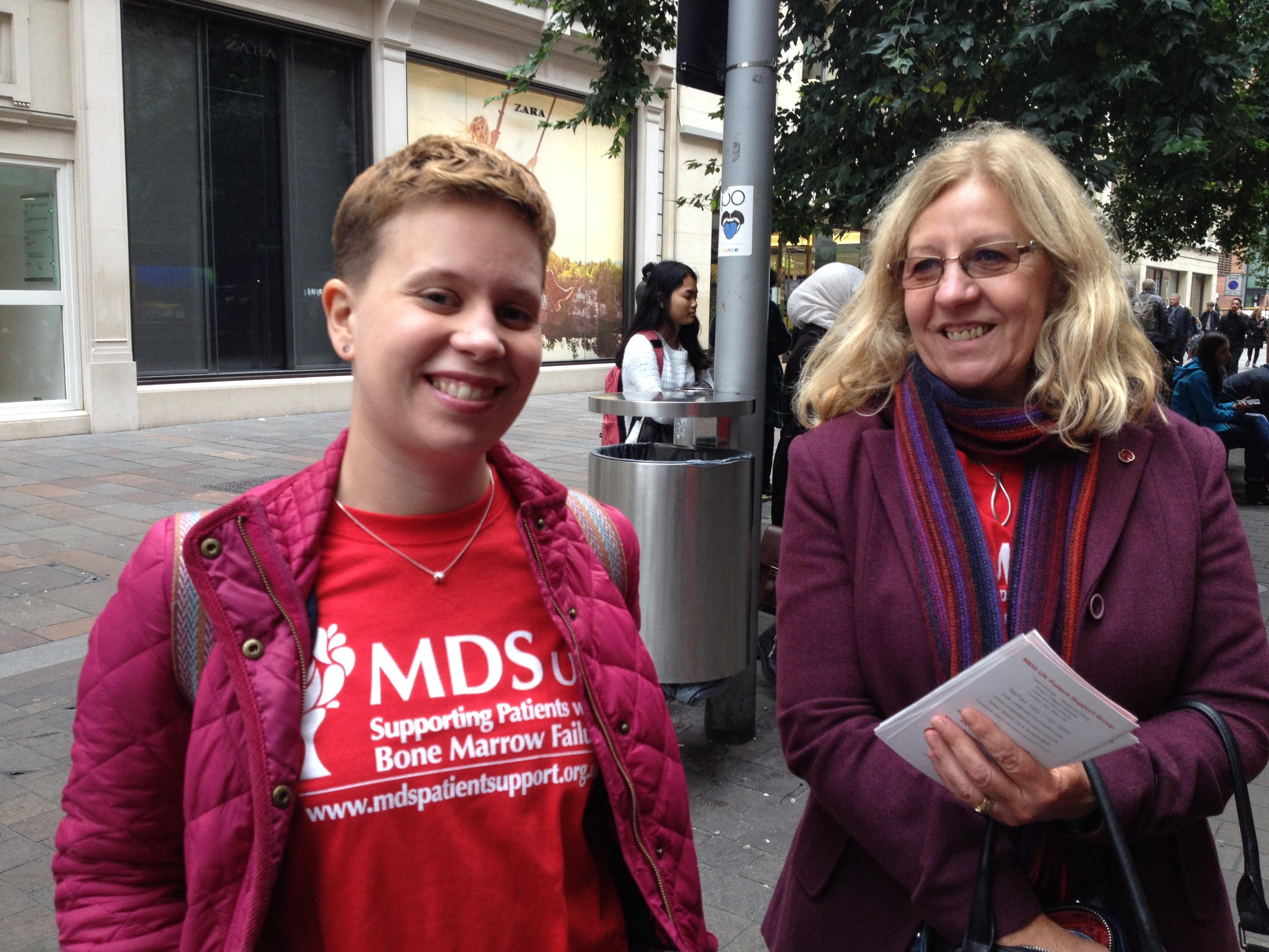 Emma Paine at MDS Awareness Day