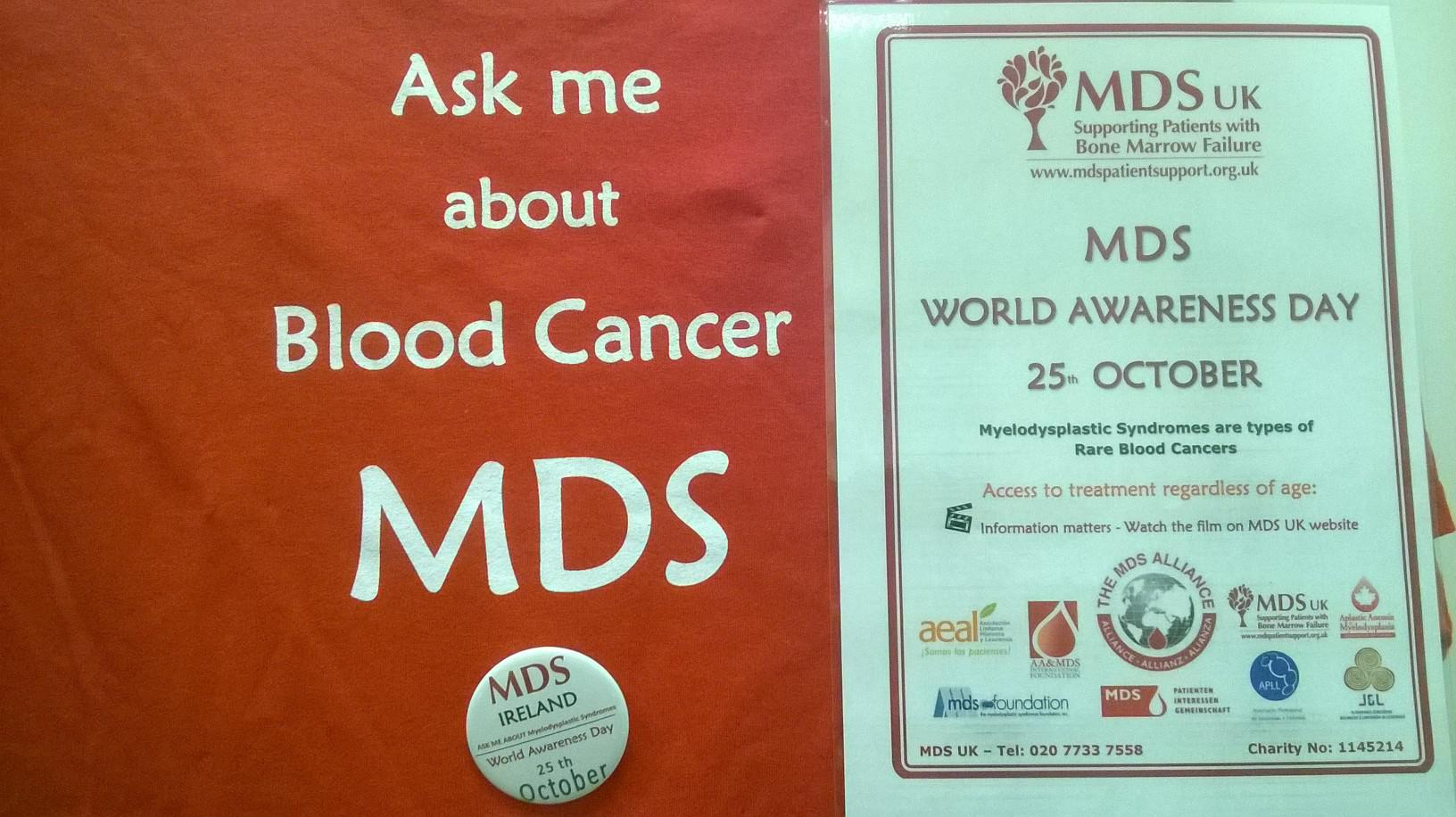 MDS World Awareness Day – 25th October