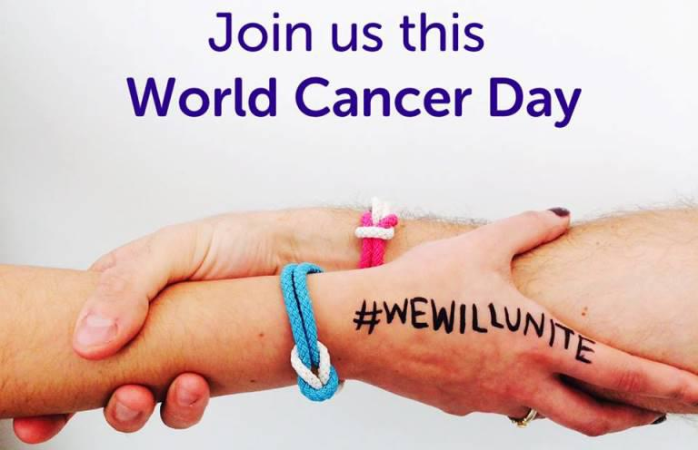 World Cancer Day – Wednesday 4th February 2015