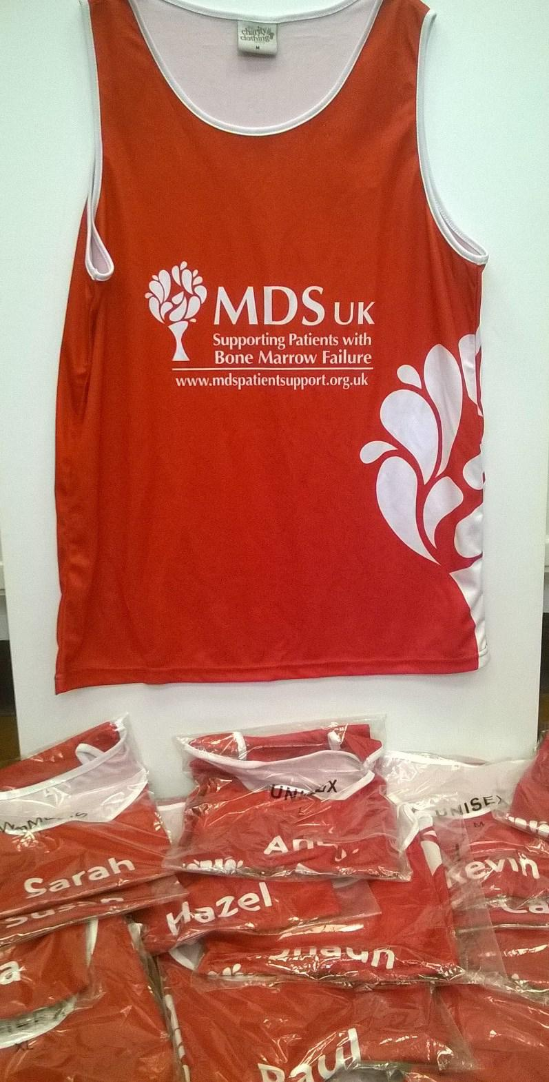 MDS UK running vests are in!