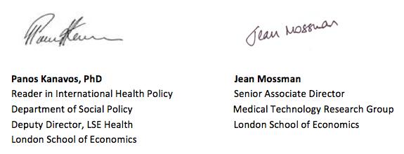 LSE signatures