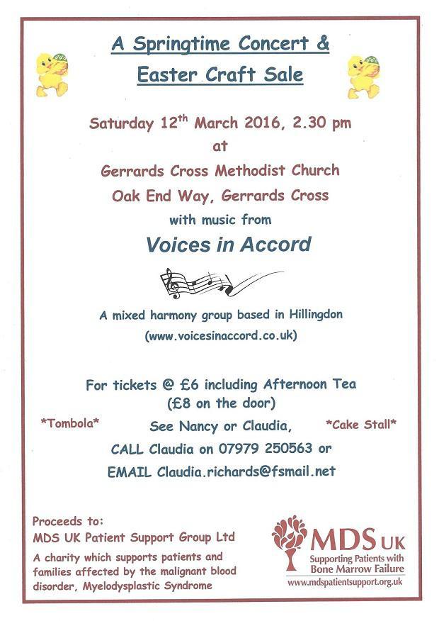 Spring Time Concert and Crafts Fair Leaflet