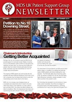 MDS UK Patient Support Group Newsletter – September 2010