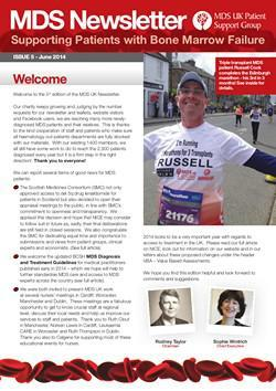 MDS UK Patient Support Group Newsletter – June 2014