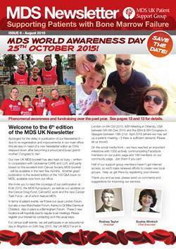 MDS UK Patient Support Group Newsletter – August 2015