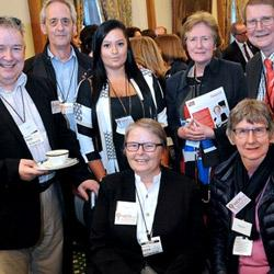 MDS patients and carers attend parliamentary reception for Cancer52