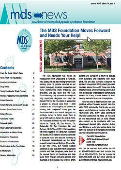 MDS Foundation Summer 2010