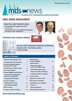 MDS Foundation Fall 2013
