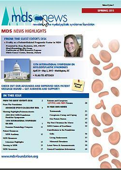 MDS Foundation Spring 2015