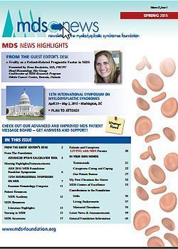 MDS Foundation Spring 2015