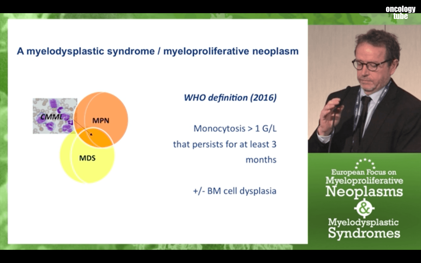 Video: Chronic myelomonocytic leukaemia CMML