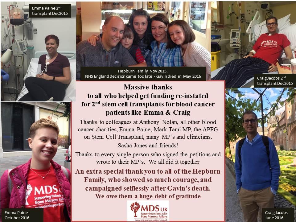 Second Stem Cells Transplant Campaign