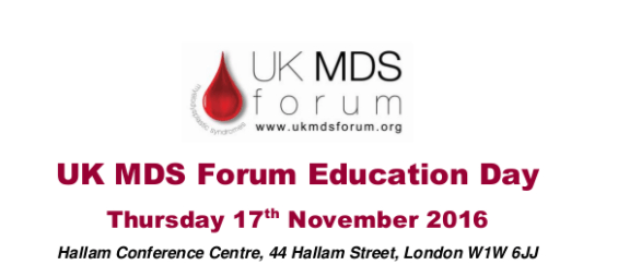 Watch the videos from the UK MDS Forum Education Day 2016