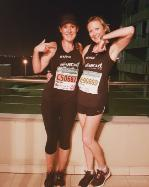 Sarah Mayo and Nicky Morgan run for MDS UK