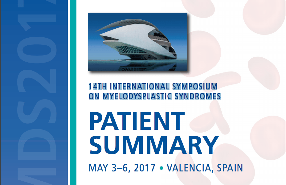 MDS Symposium Patient Summary