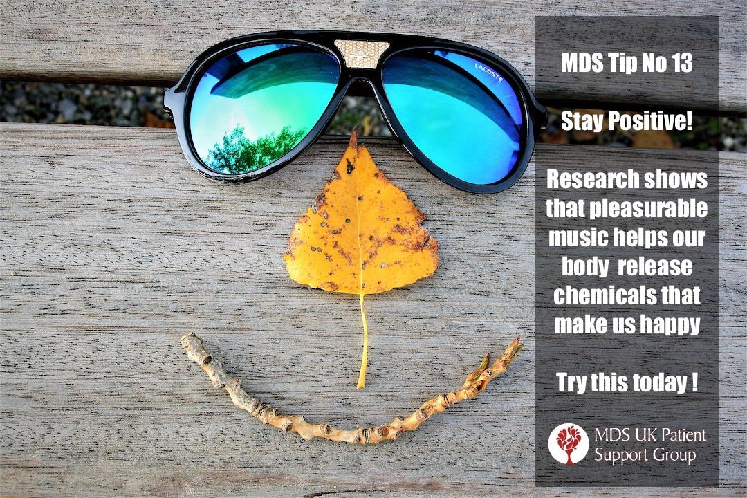 Research shows that pleasurable music helps our body release chemicals that make us happy. Try this today!