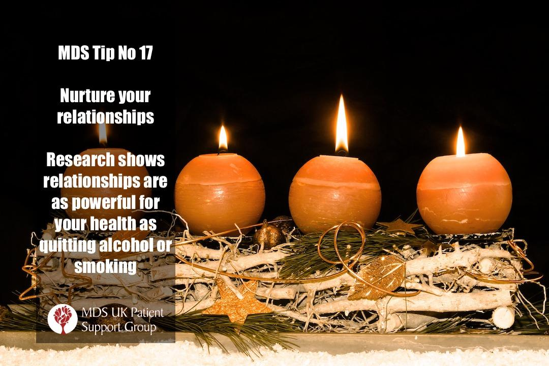 Nurture your relationships. Research shows they are as powerful for your health as quitting alcohol or smoking