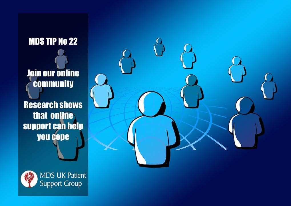 Join our online community. Research shows that online support can help you cope.