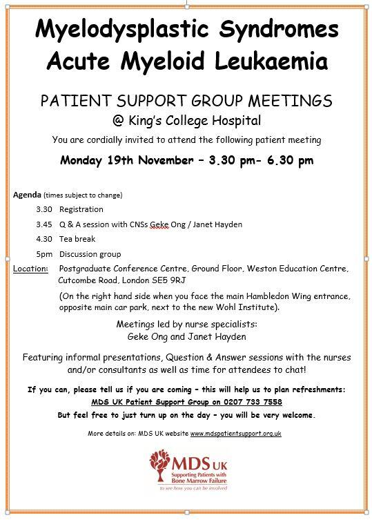 London Patient Support Group