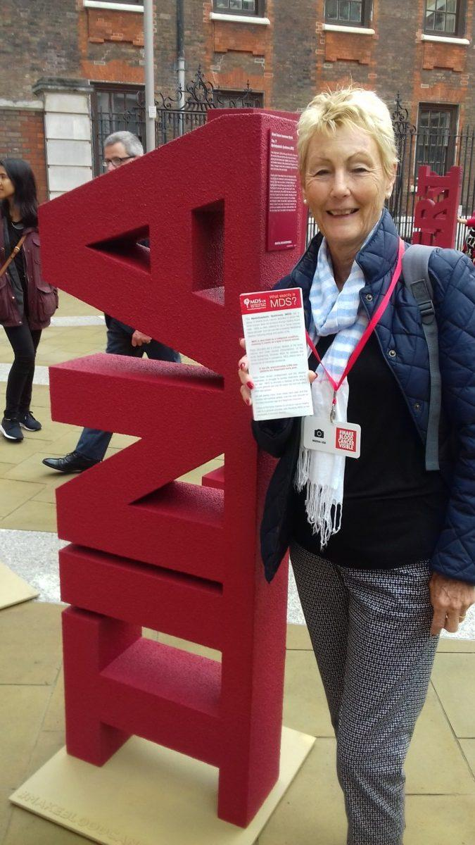 Tina at Make Blood Cancer Visible