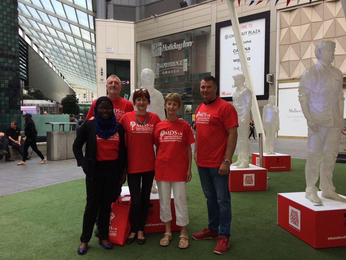 MDS Team at Make Blood Visible 2018 Installation