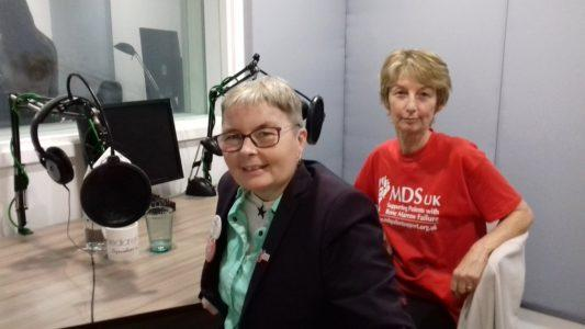 Radio Day:  October 25, MDS World Awareness Day. Catch-up on the stories of 4 people affected by MDS