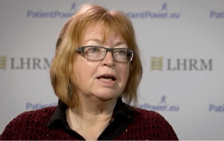 Bergit Kulhe, MDS patient and advocate, tells us about her experience with iron chelation
