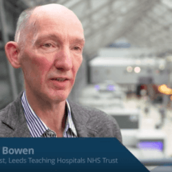 Prof Bowen talks about the results of MDS Right, a European study on MDS patients