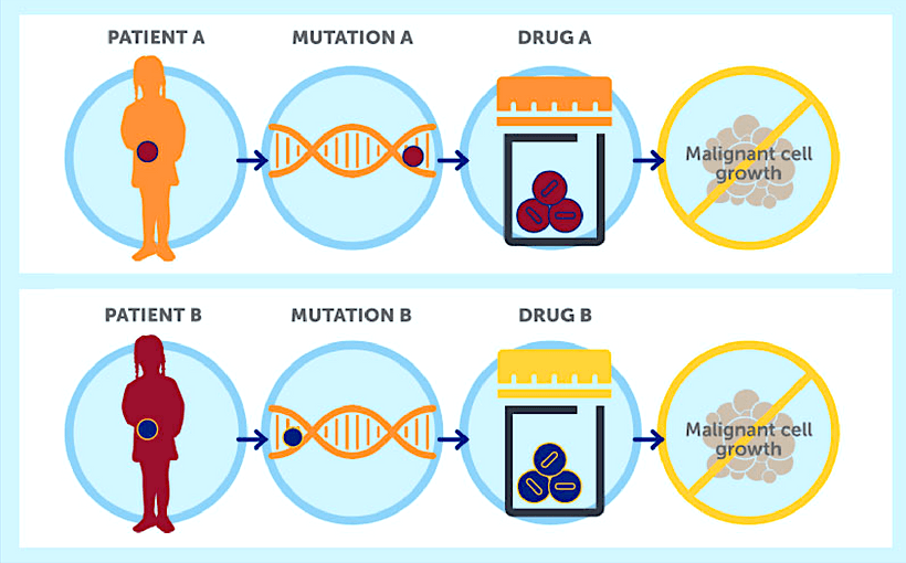 Precision Medicine - A specific drug for each genetic mutation