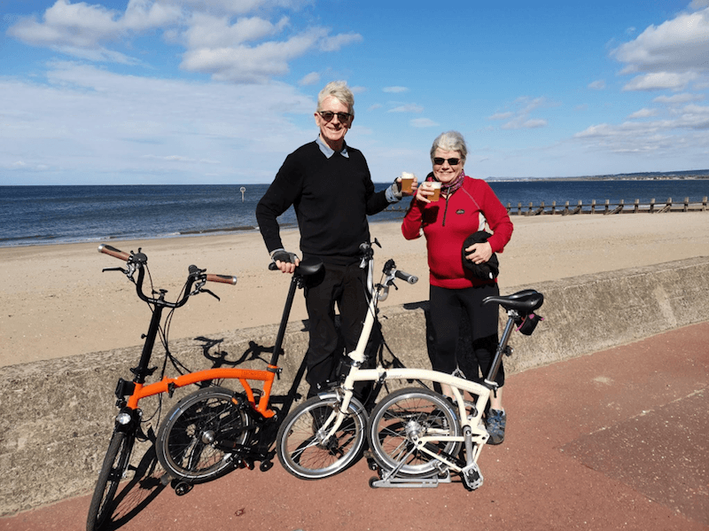 Kevin's Story: at 70, with MDS, and an avid adventure cyclist