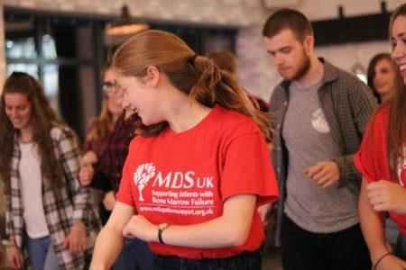 Eden organised a fun Cèilidh Fundraising Event in aid of MDS UK