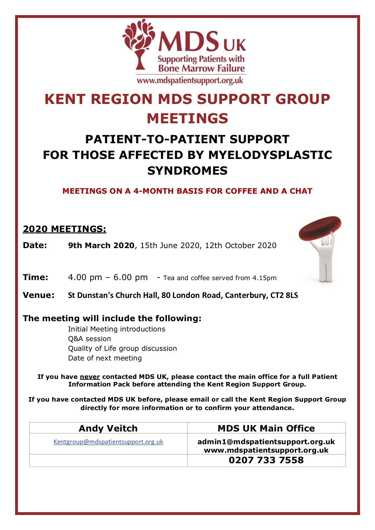 Kent meeting agenda