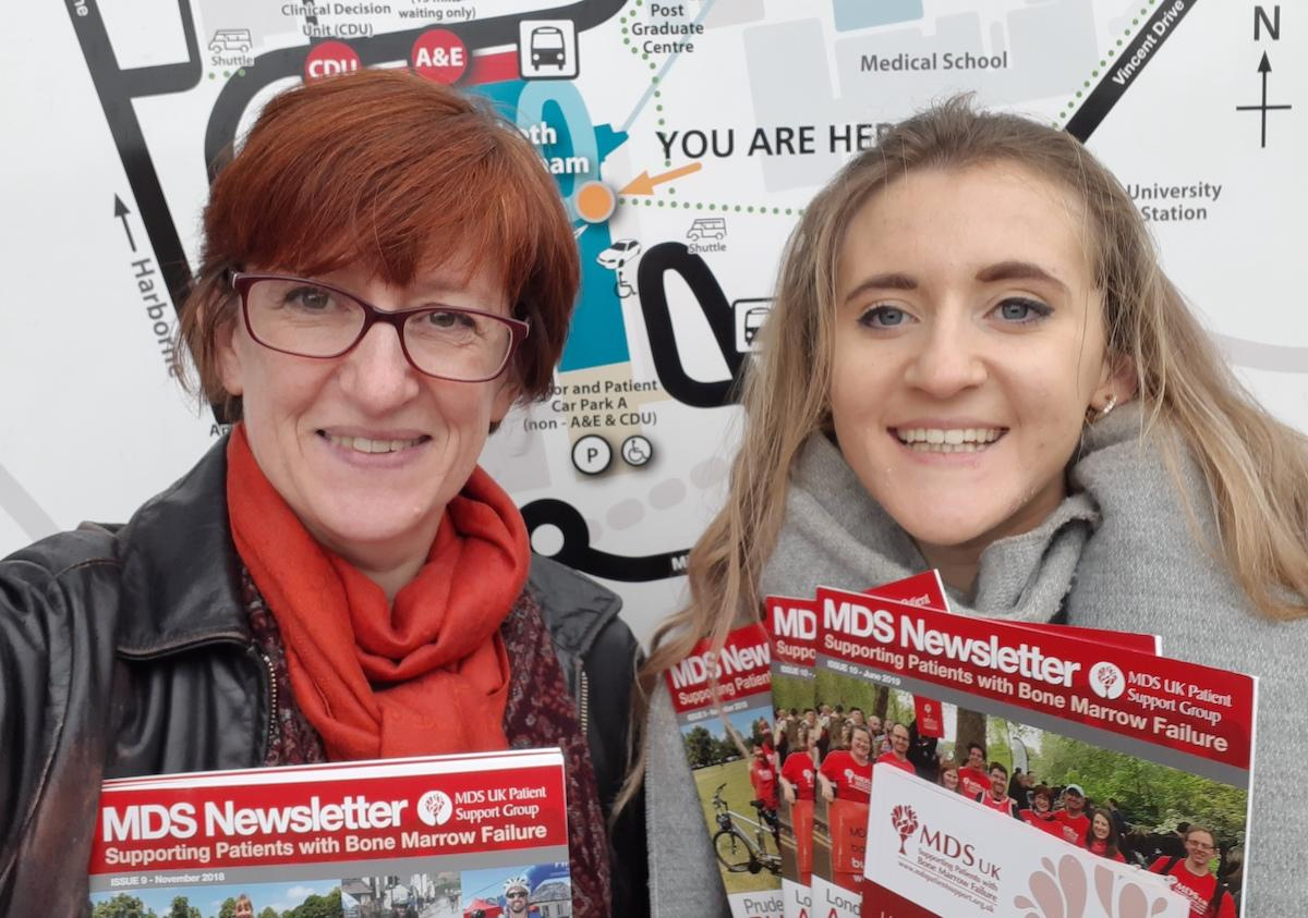 MDS UK CEO Sophie Wintrich and Sophia Taylor, Midlands Group Coordinator