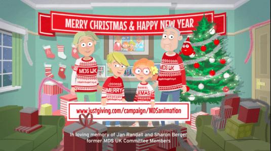 Myelo's Hope Christmas Animation