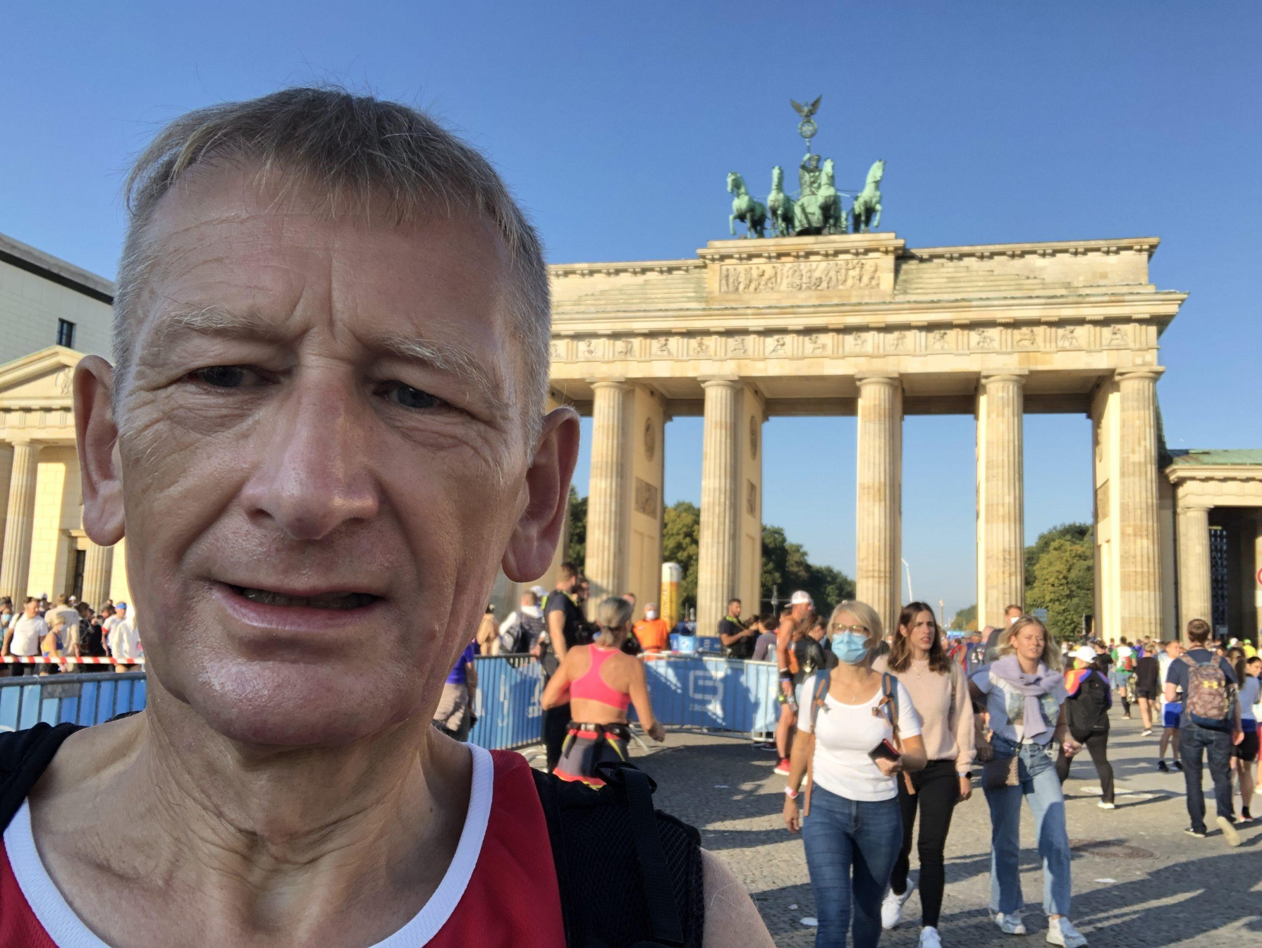Alastair Day: with low risk MDS and running three marathons